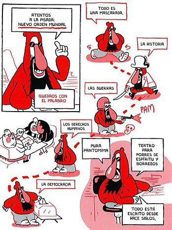 Noticias criminología. Las conspiraciones del profesor Domenikus. Marisol Collazos Soto