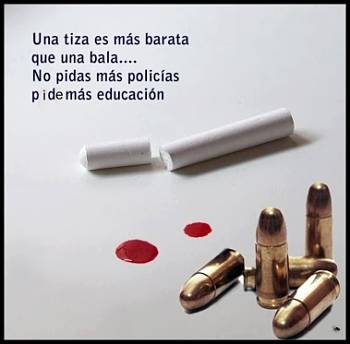 Noticias criminología. Policias frente educación. Marisol Collazos Soto