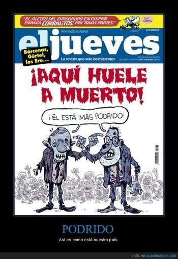 Noticias criminología. Humor con los políticos españoles. Marisol Collazos Soto