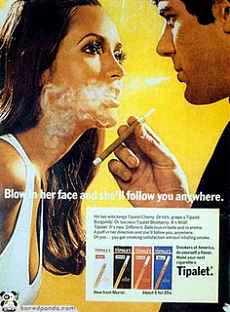Noticias Criminología. Publicidad tabaco, machista. Marisol Collazos Soto