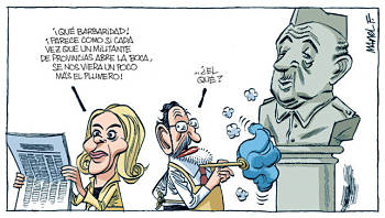 Noticias criminología. Mariano Rajoy y Francisco Franco. Marisol Collazos Soto