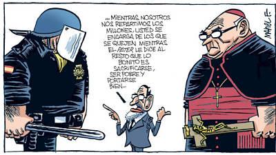 Noticias criminología. Mariano Rajoy, policia y sacerdotes . Marisol Collazos Soto