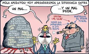 Noticias criminología. Mariano Rajoy y