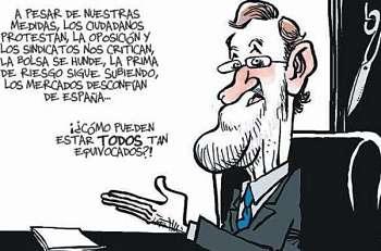 Noticias criminología. Según Mariano Rajoy, todos estamos equivocados. Marisol Collazos Soto