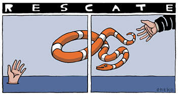 Noticias criminología. El rescate a España. Marisol Collazos Soto