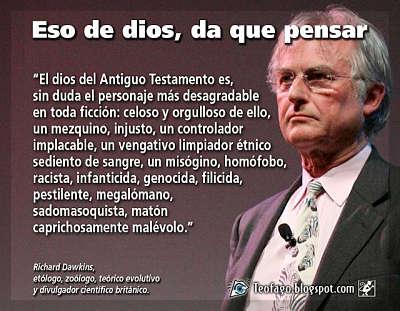 Noticias Criminología. Richard Dawkins y dios. Marisol Collazos Soto