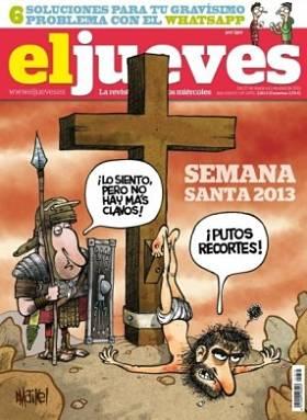 Noticias criminología. Consecuencia de la crisis en la Sermana Santa. Marisol Collazos Soto