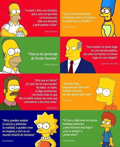 Noticias Criminología. La familia Simpsons y las creencias religiosas. Marisol Collazos Soto