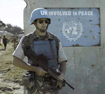 Noticias criminología. Soldado de la ONU en posición inoportuna . Marisol Collazos Soto