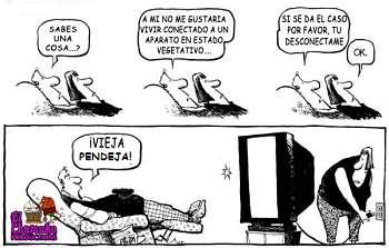 Noticias criminología. Los felices leen, los infelices ven la televisión. Marisol Collazos Soto