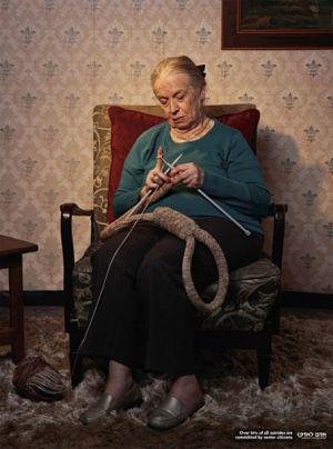 Noticias criminología. Mas del 50% de los suicidios son cometidos por ancianos. Marisol Collazos Soto