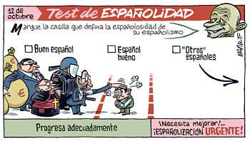 Noticias criminología. Prueba de españolidad del ministro Wert. Marisol Collazos Soto