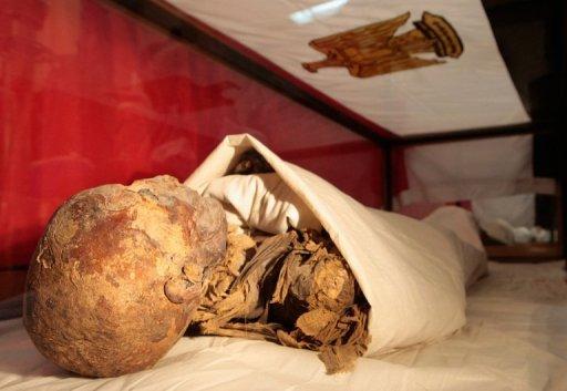 Noticias Criminología. Momia de reian egipcia con fármacos venenosos. Marisol Collazos Soto