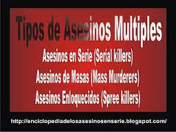 Noticias criminología. Los asesinos múltiples norteamericanos están poseídos por el demonio, según los cristianos. Marisol Collazos Soto