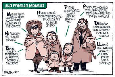 Noticias Criminología. Una familia modelo según el Partido Popular. Marisol Collazos Soto