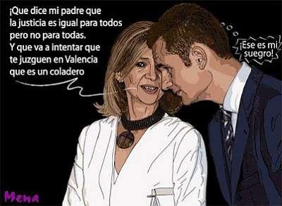 Noticias Criminología. Humor, Iñaki Urdargarín y su esposa Cristina. Marisol Collazos Soto