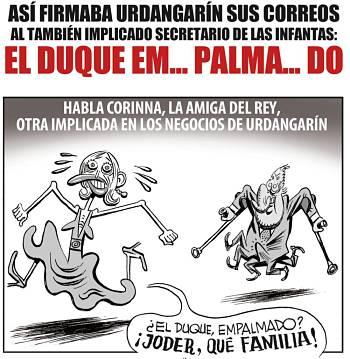 Noticias criminología. Humor con Urdargarín y el rey. Marisol Collazos Soto