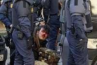 Noticias Criminología. Violencia de la policía en Valencia. Marisol Collazos Soto