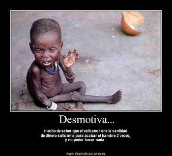 Noticias Criminología. Vaticano y hambre en el mundo. Marisol Collazos Soto