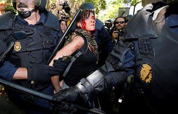 Noticias criminología. Demoledor informe de AI contra los abusos de la policía española. Marisol Collazos Soto