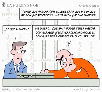 Noticias criminología. Visitas conyugales en la cárcel. Marisol Collazos Soto