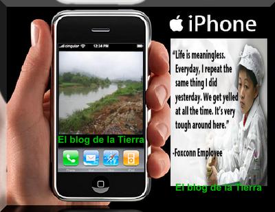 Actualidad Informática. Campaña contra la esclavitud en los suministradores de Apple. Rafael Barzanallana