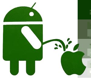 Actualidad Informática. Humor entre Android y Apple. Rafael Barzanallana
