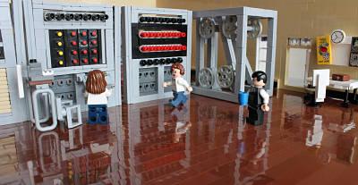 Actualidad Informática. Colossus, el ordenador que descifró el código de Enigma reproducido en Lego. Rafael Barzanallana. UMU