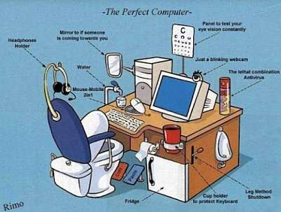 Actualidad Informática. El ordenador perefecto. Rafael Barzanallana