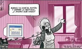 Actualidad Informática. Humor con ratonera. Rafael Barzanallana. UMU