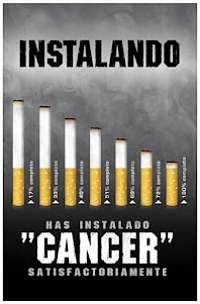 Actualidad Informática.  Humor: instalando cáncer. Rafael Barzanallana