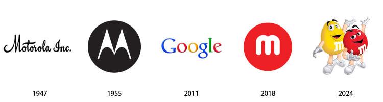 Actualidad informática. logos Motorola. Rafael Barzanallana