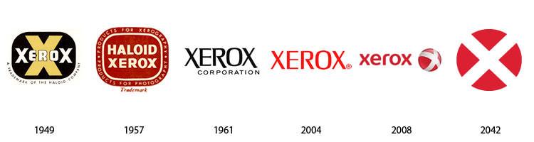 Actualidad informática. logos Xerox. Rafael Barzanallana