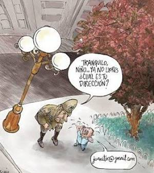 Actualidad Informática. Niño perdido y nuevas tecnologías. Rafael Barzanallana