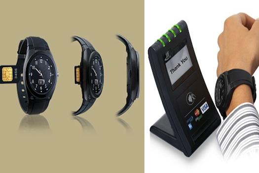 Actualidad Informática. Reloj de pulsera con tarjeta MasterdCard. Rafael Barzanallana