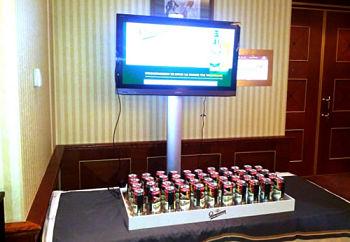 Actualidad Informática. Teclado con latas de cerveza controlado por Arduino. Rafael Barzanallana. UMU