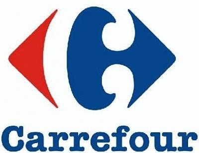 Toca Comer. Logo de Carrefour muestra una C en blanco. Marisol Collazos Soto
