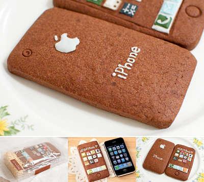 Toca Comer. Galletas iPhone Apple. Marisol Collazos Soto