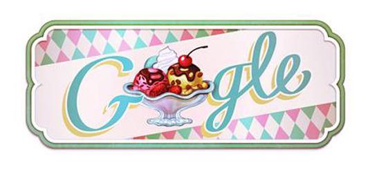 Toca Comer. Google conmemora el helado Sundae. Marisol Collazos Soto