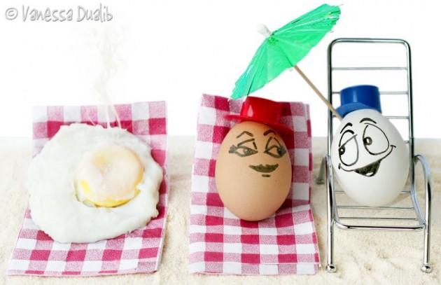 Toca Comer. Humor con huevos. Marisol Collazos Soto