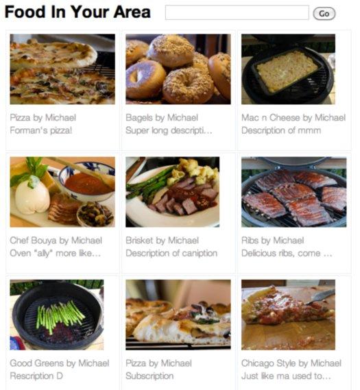 Toca Comer. Búsqueda de comida casera. Marisol Collazos Soto