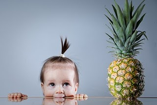 Toca Comer. Peinado de piña. Marisol Collazos Soto