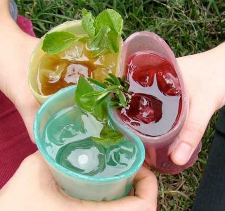 Tocacomer, jelloware vasos ecológicos